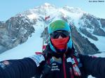 Pierwsze wyjście, w tle K2 fot. A.Małek