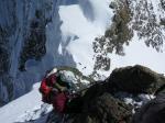 Na grani BPM powyżej przełęczy fot. J.Gawrysiak